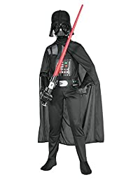Rubies Costume Star Wars Child's Darth Vader Costume, Small (size 4-6)