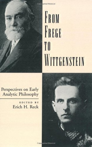 From Frege to Wittgenstein: Perspectives on Early Analytic Philosophy Pdf