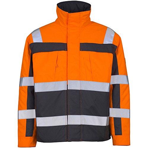 "Mascot Pilotenjacke ""Timon"", 1 Stück, XL, orange/anthrazit, 07123-126-14888-XL"