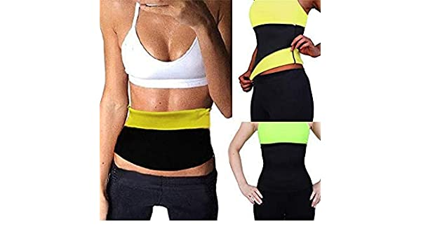 330acade74adc Bloomerang NINGMI Neoprene Hot SPA Waist Trainer Corset Latex Slimming Belly  Band Cincher Body Shaper Sweat Sauna Belt Women Slim Shapewear Color Black  Size ...