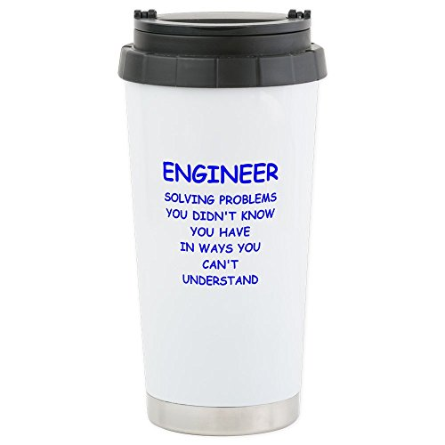 CafePress - ENGINEER Travel Mug - Stainless Steel Travel Mug