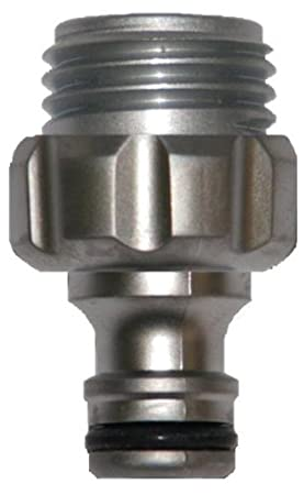 Gardena 39022-G Premium Metal Garden Hose Male Adapter