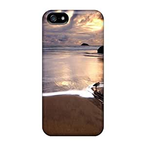 Fashionable Style Case Cover Skin For Iphone 5/5s- Stormy Sunset by runtopwell