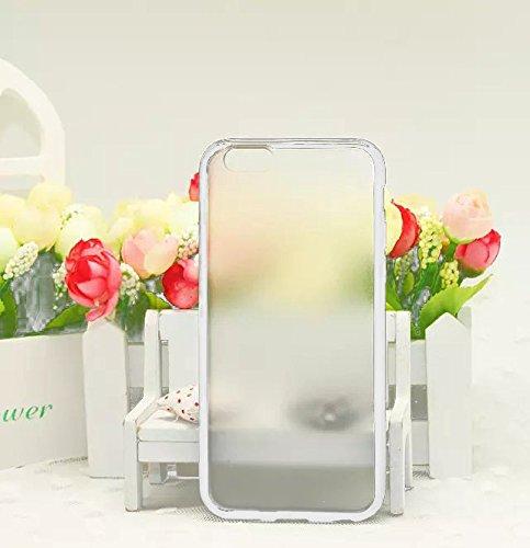 Monkey Cases® iPhone 6 - 4,7 Zoll - TPU Case for iPhone 6 - Transparent Matt - WEIß - Handyhülle - ORIGINAL - NEU/OVP - WHITE