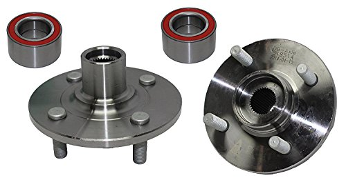 Detroit Axle - Brand New (Both) Front Wheel Hub and Bearing Assembly Saturn SC1 SC2 SL SL SW1 14 Bolt (Pair) 518514 ()