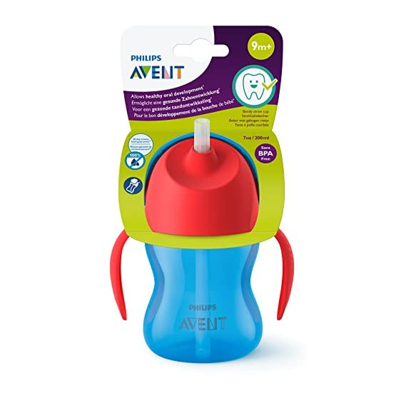 Philips Avent Straw Cup, 7oz (Blue)