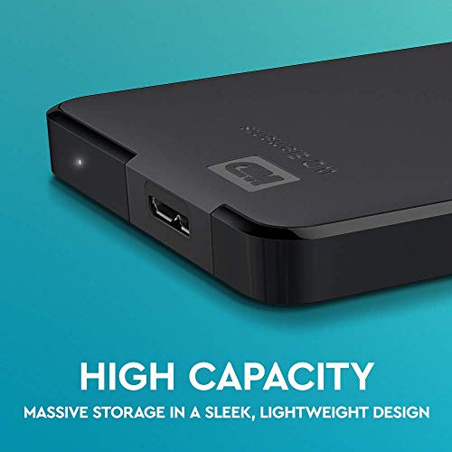 Western Digital Elements Portable, externe Festplatte - 2 TB - USB 3.0 - WDBU6Y0020BBK 3