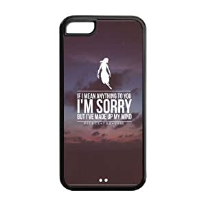 the Case Shop- Customizable Pierce The Veil Band Limited Edition iPhone 5C TPU Rubber Protective Hard Back Case Cover Skin , i5cxq-646