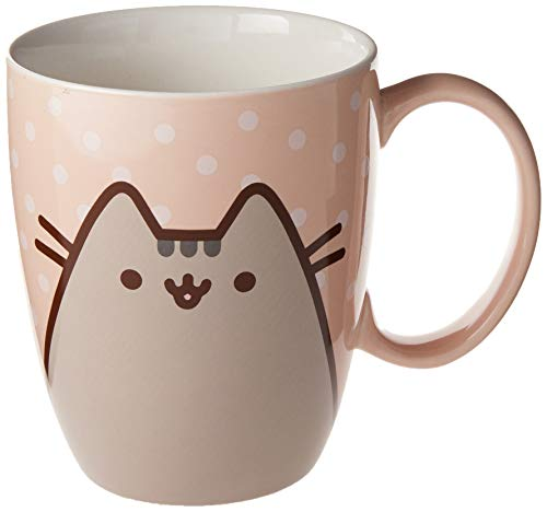 Enesco Pusheen by Our Name is Mud Polkadot Coffee Mug, 12 oz.
