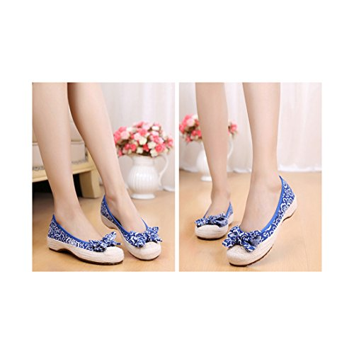 Florales Brod Chinoises Florales Chaussures Chaussures Chinoises SfxS6Uqw