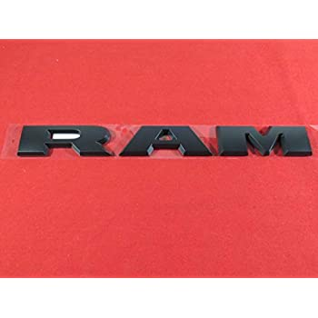 OEM Mopar! Emblem NEW 2013-2018 RAM 1500 Chrome DOOR NAMEPLATE