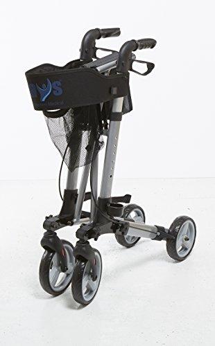 Amazon.com: Patterson Medical – Andador con ruedas (Peso ...