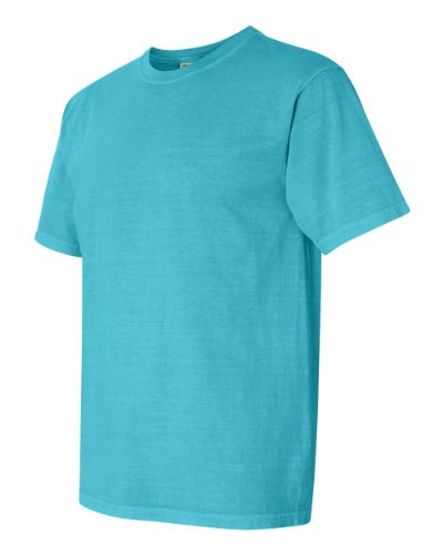 Comfort Colors Pigment-Dyed Short Sleeve Shirt Small Lagoon Blue from Comfort Colors