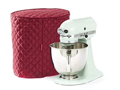 CoverMates – Mixer Cover – 15W x 10D x 15H – Diamond Collection – 2 YR Warranty – Year Around Protection - Red