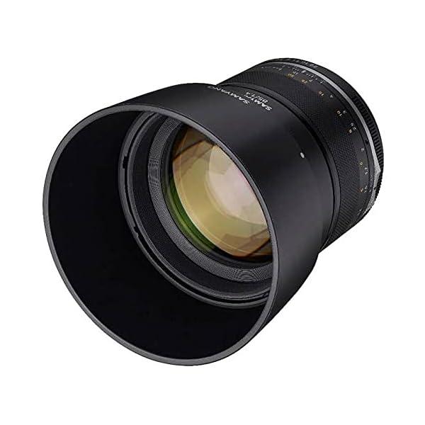 RetinaPix Samyang Manual Focus 85MM F1.4 MK2 Camera Lens for Canon EF