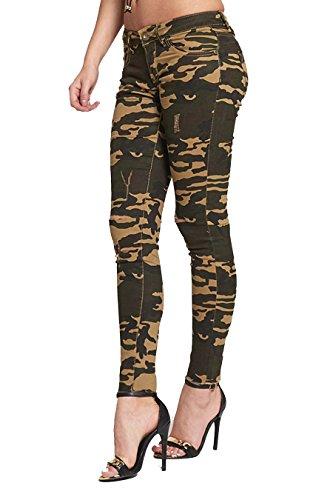 16 Divadames Jeans Donna khaki 549 anx1Xp1A