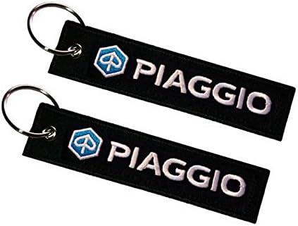 Piaggio Doppelseitiger Schlüsselanhänger 1 Stück Auto