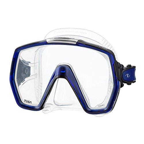 TUSA M-1001 Freedom HD Scuba Diving Mask, Cobalt Blue