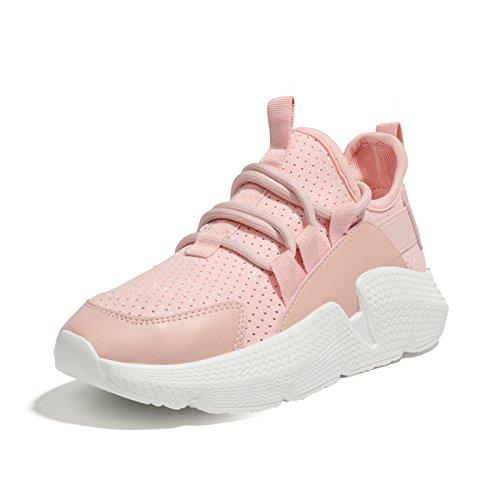 Zapatos Transpirable Vacíos Malla Deportivo Calzado amp;G Pink De Con NGRDX 60qAC1
