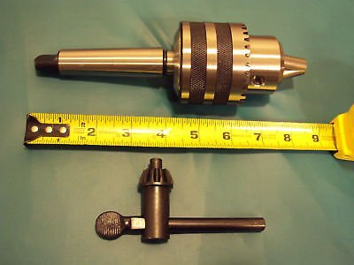 """METAL LATHE 3/4"""" DRILL CHUCK FOR TAIL STOCK ON GRIZZLY G0602 LATHE"""