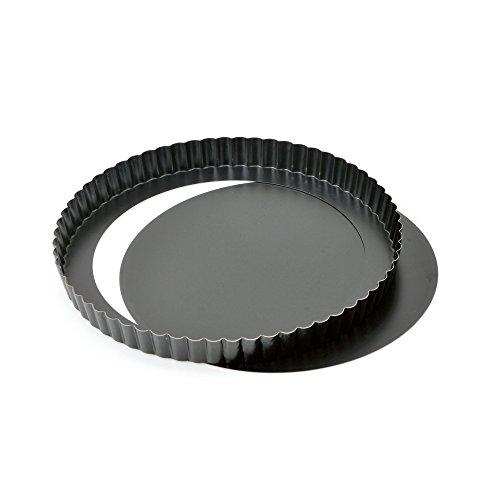 KAISER Quicheform mit Hebeboden ø 28 cm Delicious gute Antihaftbeschichtung herausdrückbarer Hebeboden gleichmäßige Bräunung durch optimale Wärmeleitung