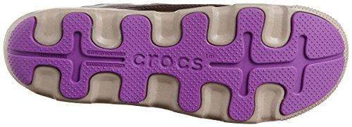 Crocs Duet Busy Day Winter Boot W - Botas de sintético mujer Marrone (Espresso/Mushroom)