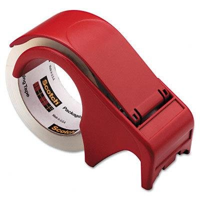 MMMDP300RD - Scotch Compact and Quick Loading Dispenser for Box Sealing Tape