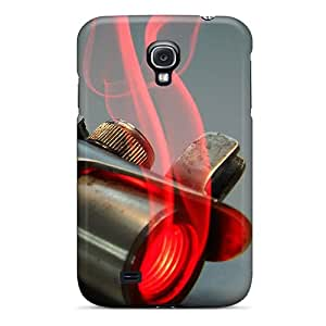 For Ercox Galaxy Protective Case, High Quality For Galaxy S4 Star Wars Red Lightsabers Skin Case Cover