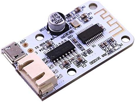 10PCS DC 5V Micro USB Power 3W+3W Bluetooth 4.0 Audio Receiv