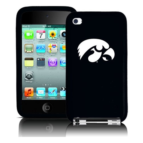 UPC 845933036203, Iowa Hawkeyes iPod Touch 4G Silicone Cover