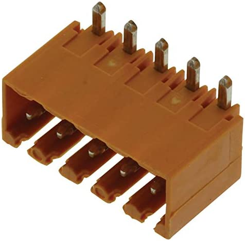 Header Terminal Block Pack of 20 5 Positions 10 A Through Hole Right Angle-1605100000 300 V 3.5 mm Pluggable 1605100000