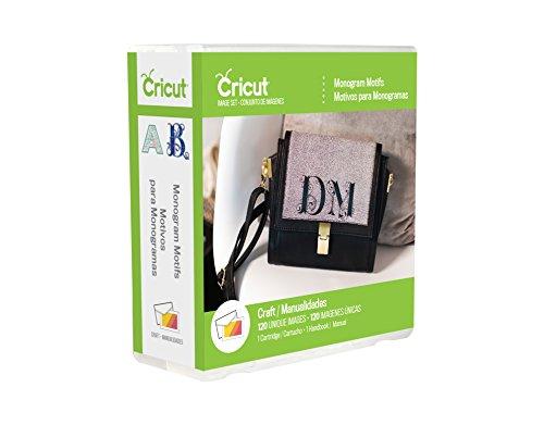 Provo Craft 2002932 Monogram Motifs Cricut Shape Cartridge, Multicolor (Cricut Cartridge Monogram)