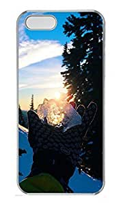 Case For Htc One M9 Cover landscapes nature snow 12 PC Custom Case For Htc One M9 Cover Cover Transparent