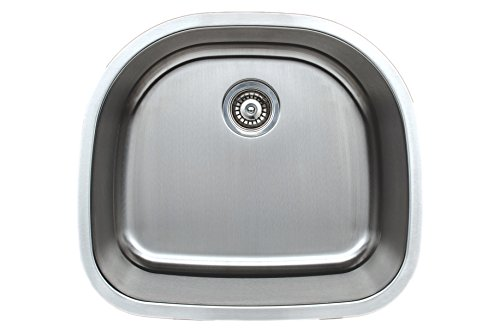 Wells Sinkware CMU2421-9D-16-1 Stainless Steel Kitchen Sink Package, 24