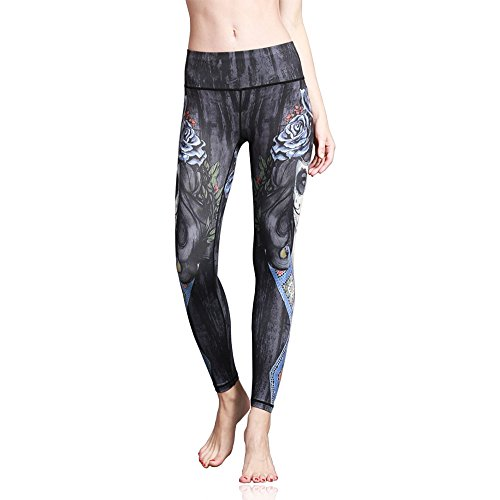 Doris Boutique us Fashion Printed Yoga Workout Stretch Leggings Patterned Pants