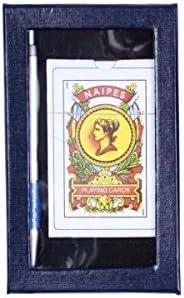 Set Cartas Españolas + Bolígrafo con Estuche (2,45€ unidad) Pack 15 unidades.: Amazon.es: Hogar