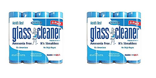 Sprayway, Sprayway Glass Cleaner, 19 oz Cans, Pack of 16