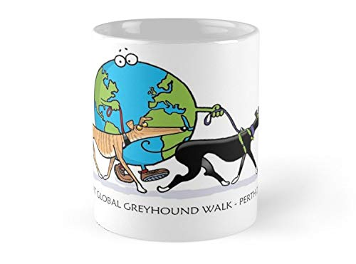 Great Global Greyhound Walk Perth 2018 11oz Mug - Made from Ceramic - Great gift for family and friends]()