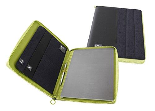 NAVA PASSENGER portablocco Para Documentos A4 6908 Modelo BLACK/GREEN