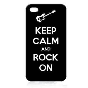 Keep Calm and Rock on HardDiy For SamSung Galaxy S5 Case Cover Generation - Free Plastic Retail Packaging Box