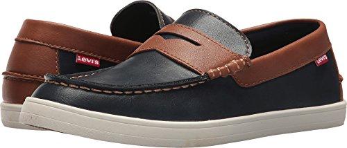 Nappa Mens Levi's Tan Shoes Navy Mast BT T0ngwPq