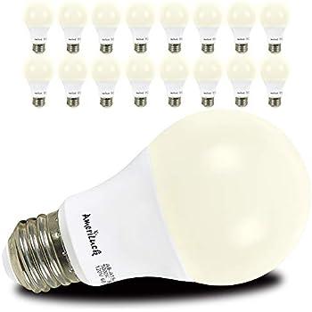 Ameriluck 16 Pack A19 Led Light Bulb 60w Equivalent 9w