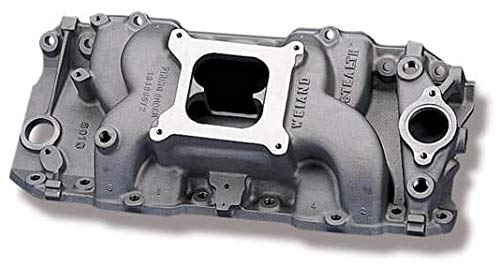 (NEW WEIAND STEALTH INTAKE MANIFOLD, FITS CHEVY BIG BLOCK V8, 396-502 CI WITH HIGH PERFORMANCE OVAL PORT HEADS)