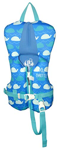 - Full Throttle Hinged Flexback Neoprene Life Jacket, Blue, Infant