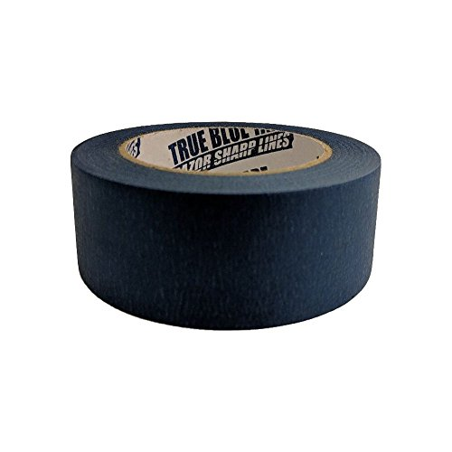 True Blue Premium Blue Professional Painter's Masking Tape – Indoor and Outdoor Use – Commercial Grade - Available in 2 Widths – Works on a Variety of Surfaces (2 Inch, 4-Pack) by True Blue (Image #6)