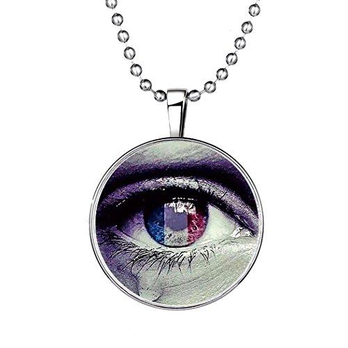 YC Top Original Design Creative Evil Eye noctilucous Anhänger Halskette