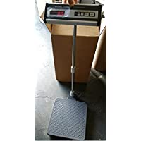 Siltec Bench Scale 500 lb x 0.5 lb,Heavy Duty for Weighing Shipping, PS-500L Size 12X12.4, New
