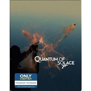 Quantum of Solace: Limited Edition Steelbook (Blu-ray + Digital HD)