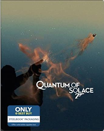 Quantum of Solace: Limited Edition Steelbook (Blu-ray + Digital HD)