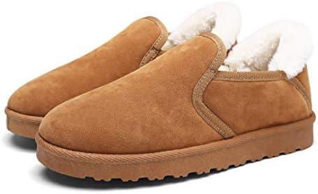 ショートブーツ メンズ ムートンブーツ 黒 裏起毛 男性 スエード ボア ムートン 防寒靴 防寒 防滑 保温 スノーブーツ おしゃれ 冬靴